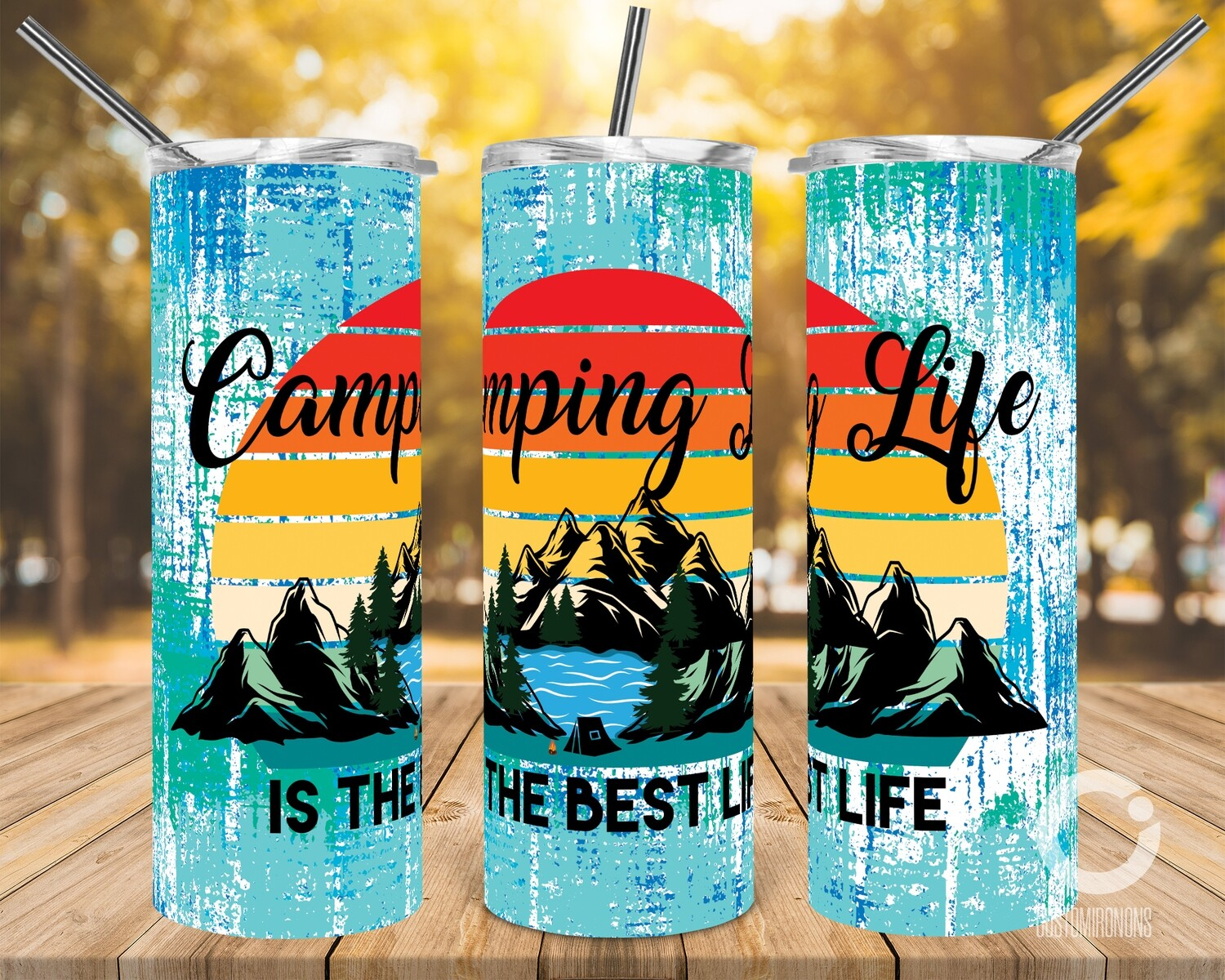 Camping Life is the best life - 20oz Tumbler Designs