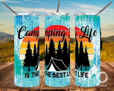Camping Life is the best life (TENT) - 20oz Tumbler Designs
