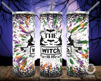 The Witch is In 20oz Tumbler