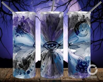 Celestial Symbols Halloween Vibes 20oz Tumbler