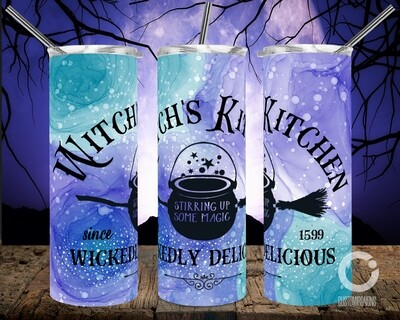 Witches Kitchen Blue/Teal