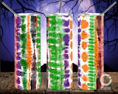 Halloween Tie Dye - 20oz taper and Straight