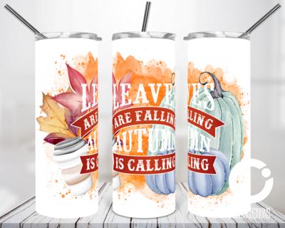 Leaves are Falling - 20oz Tumbler Digital Download