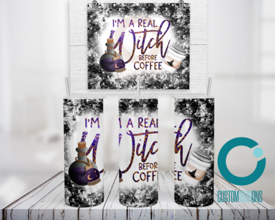 Witch Coffee  - 20oz Tumbler Digital Download