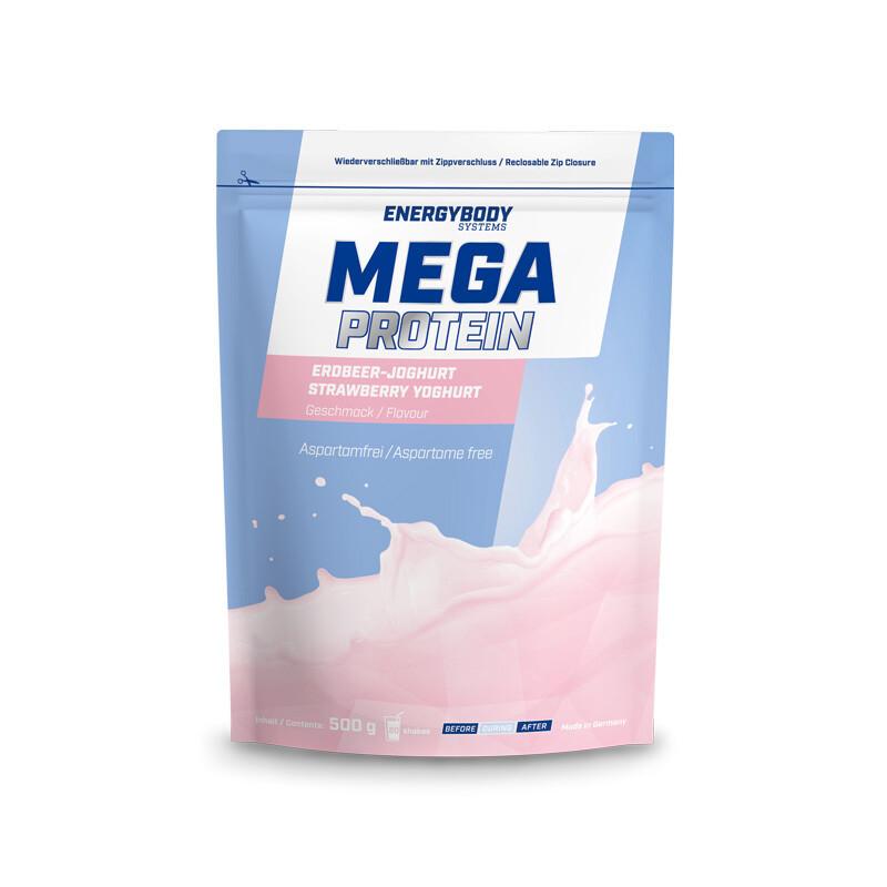 Mega Protein Erdbeer-Jogurt 500g