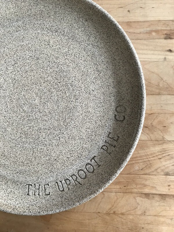 The Uproot Pie Co. Pizza Stone
