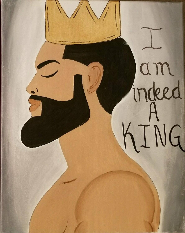 KING PAINT PARTY KIT