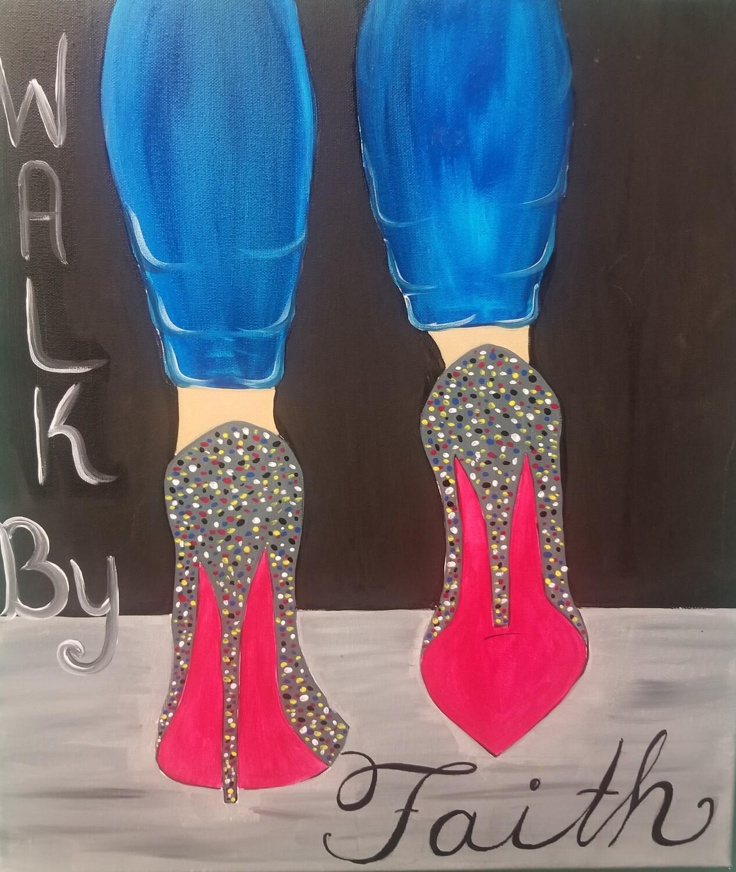 WALK BY FAITH PAINT PARTY KIT