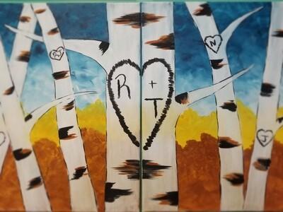 LOVE FOREST PAINT KIT