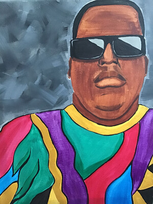 BIGGIE PAINT KIT (11x14 Canvas)