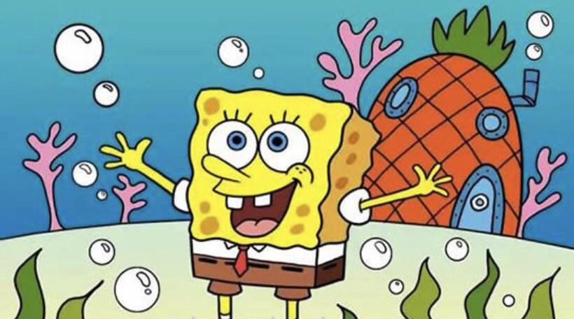 Sponge bob Paint Party kit
