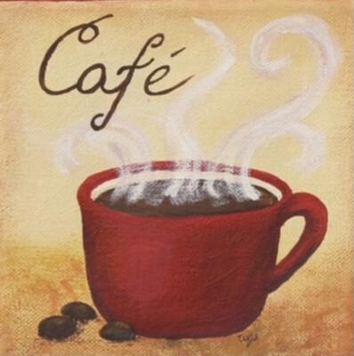 CAFE LATTE PAINT PARTY KIT
