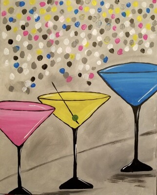 MARTINI PARTY PAINT PARTY KIT