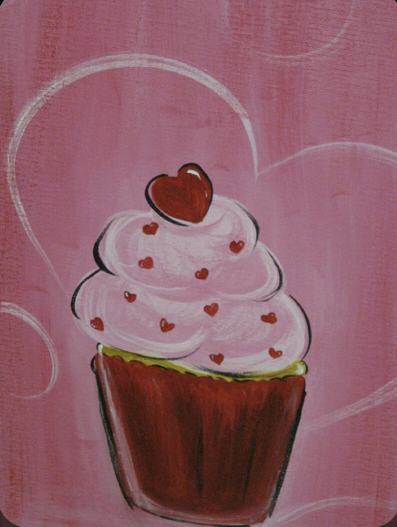 I LOVE CUPCAKES PAINT PARTY KIT