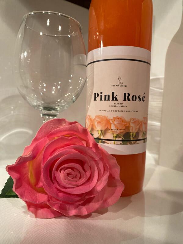 PINK ROSÉ COCKTAIL MIXER
