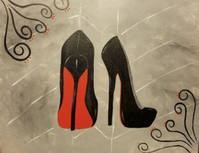 RED BOTTOMS PAINT PARTY KIT