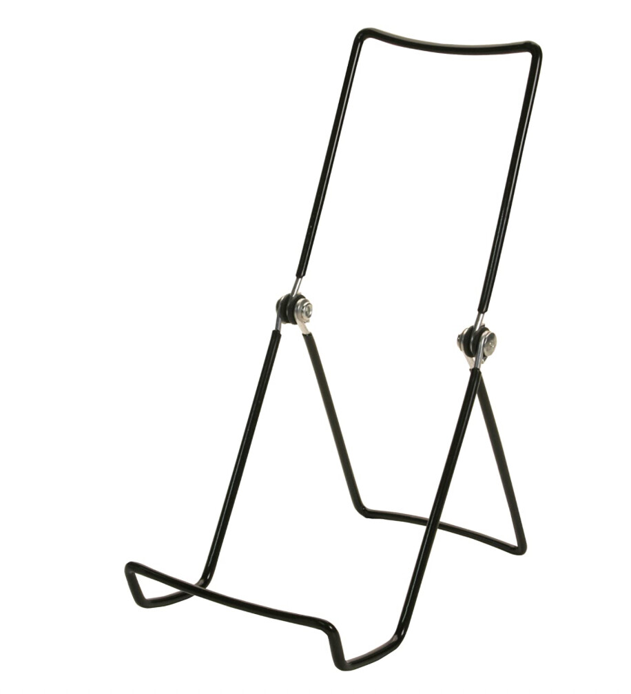 Black Wired Tabletop Easel