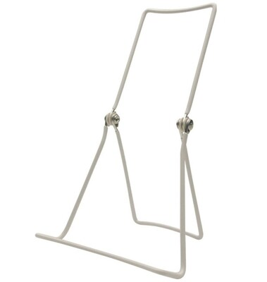 White Wired Tabletop Easel