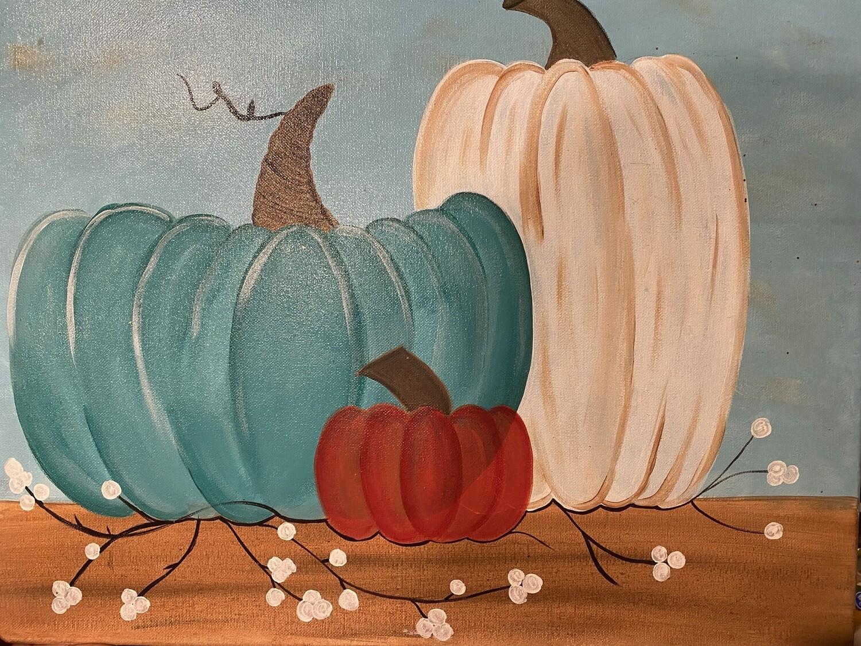 Pumpkin Spice Paint Party Kit