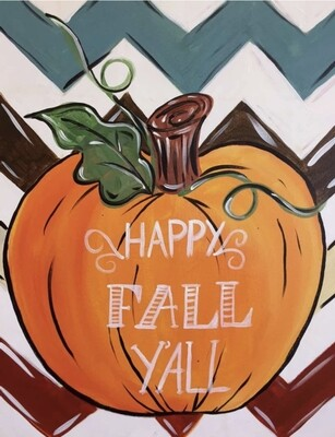 HAPPY FALL YALL PAINT PARTY KIT