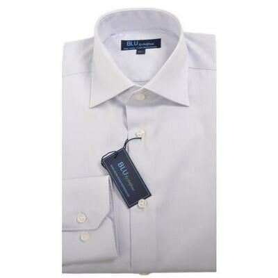 BLU by Polifroni Silver Dress Shirt