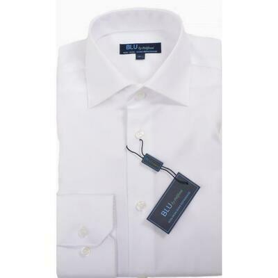 BLU by Polifroni White Dress Shirts