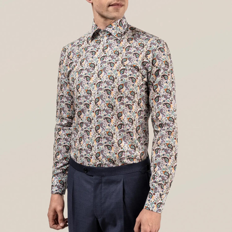 Eton Multi Paisley Poplin Shirt