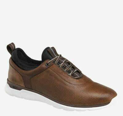 Johnston and Murphy Prentis shoe Mahogany