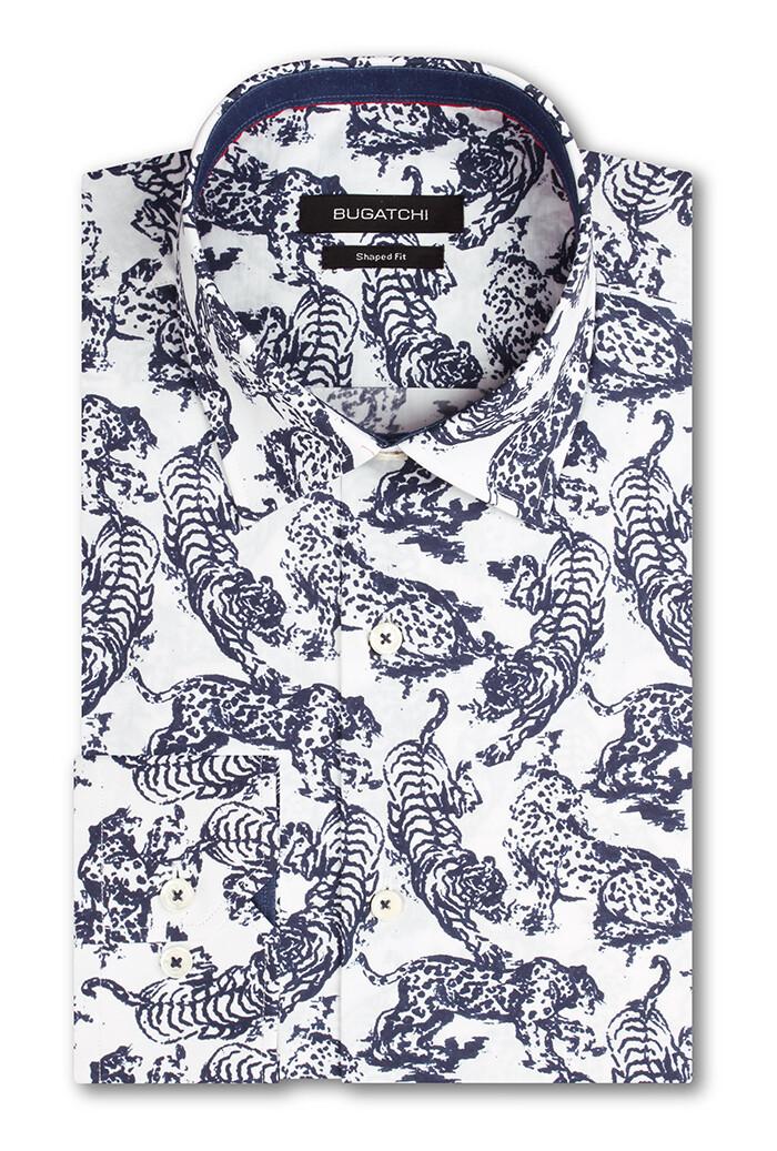 Bugatchi Big Cats LS Woven Shirt
