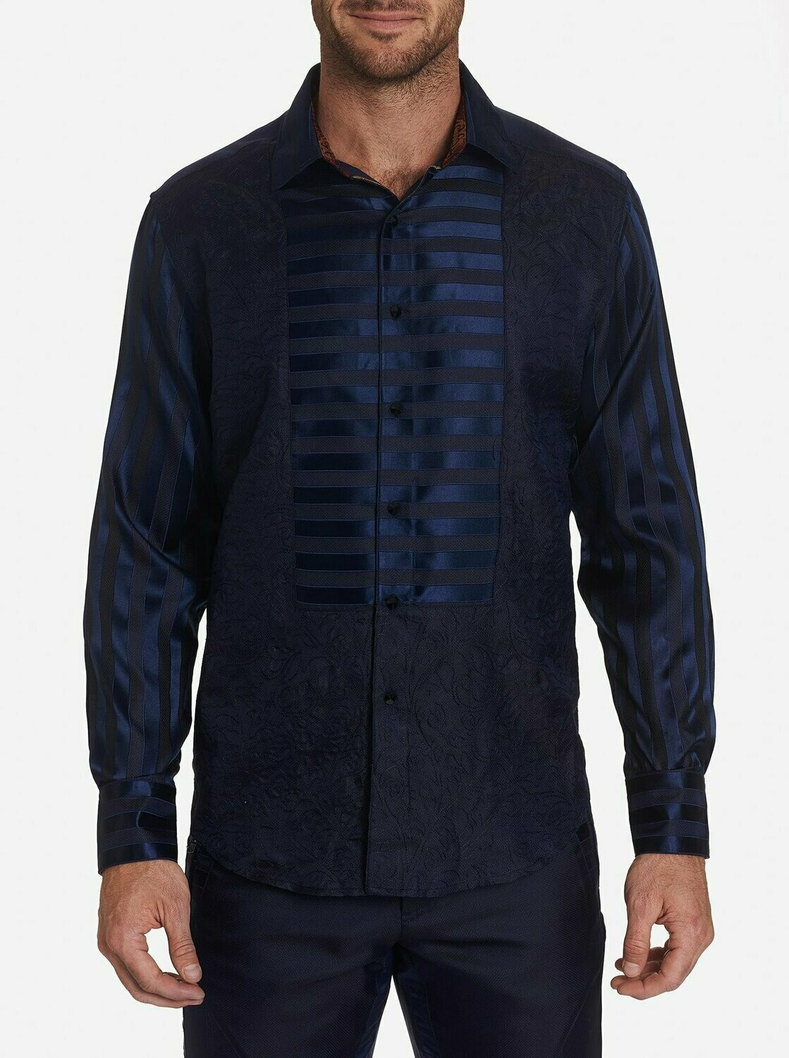 Robert Graham LIMITED EDITION OPERA BLUE SPORT SHIRT