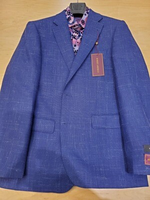 Robert Amerigo Blue Wool linen blend