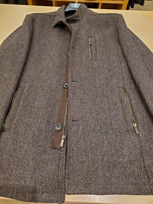 One for All Mankind Brown Wool casual coat