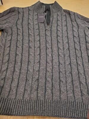 Kinross Cashmere 1/4 Zip Sweater