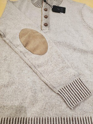 Raffi 1/4 buttom up wool/cashmere sweater