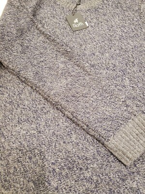 Raffi feather touch wool crew neck sweater