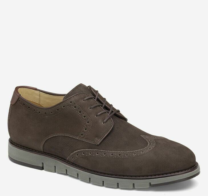 Johnston and Murphy Brown Martell wingtip