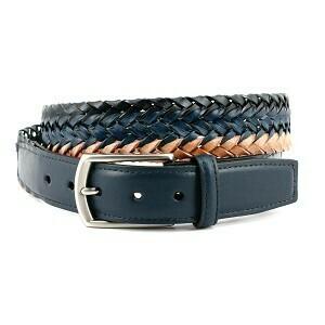 Torino Braided black/brown Belt