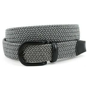 Torino Braided Gray Belt