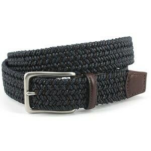 Torino Dark Brown/Navy Belt