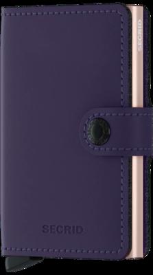 Secrid Miniwallet Matte Purple-Rose