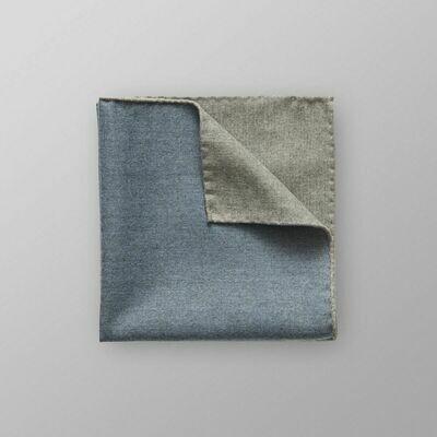 Eton Sky Blue Brushed Pocket Square