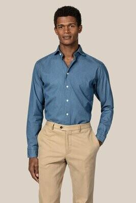 Eton Slim Fit Lightweight Denim Shirt - Soft