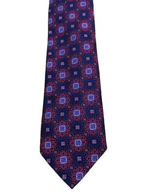 VIV Italian Silk Medallion Tie