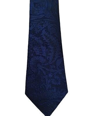 VIV Italian Textured Paisley Silk Tie
