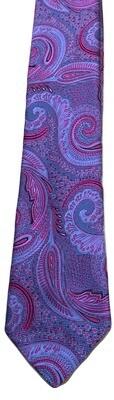 VIV Italian Paisley Silk Tie