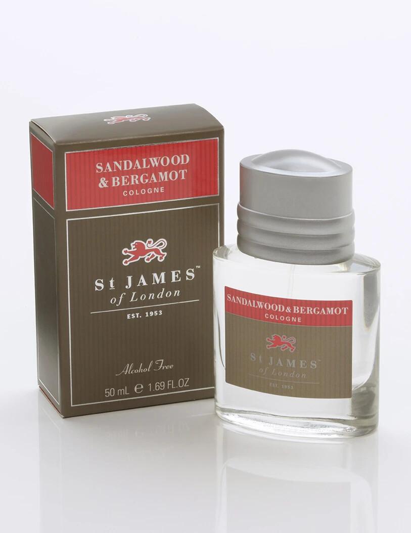 St. James of London Sandalwood & Bergamot Cologne