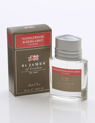 St. James of London Sandalwood & Bergamot Cologne