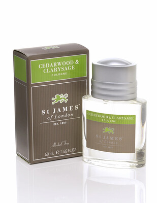 St. James of London Cedarwood & Clarysage Cologne