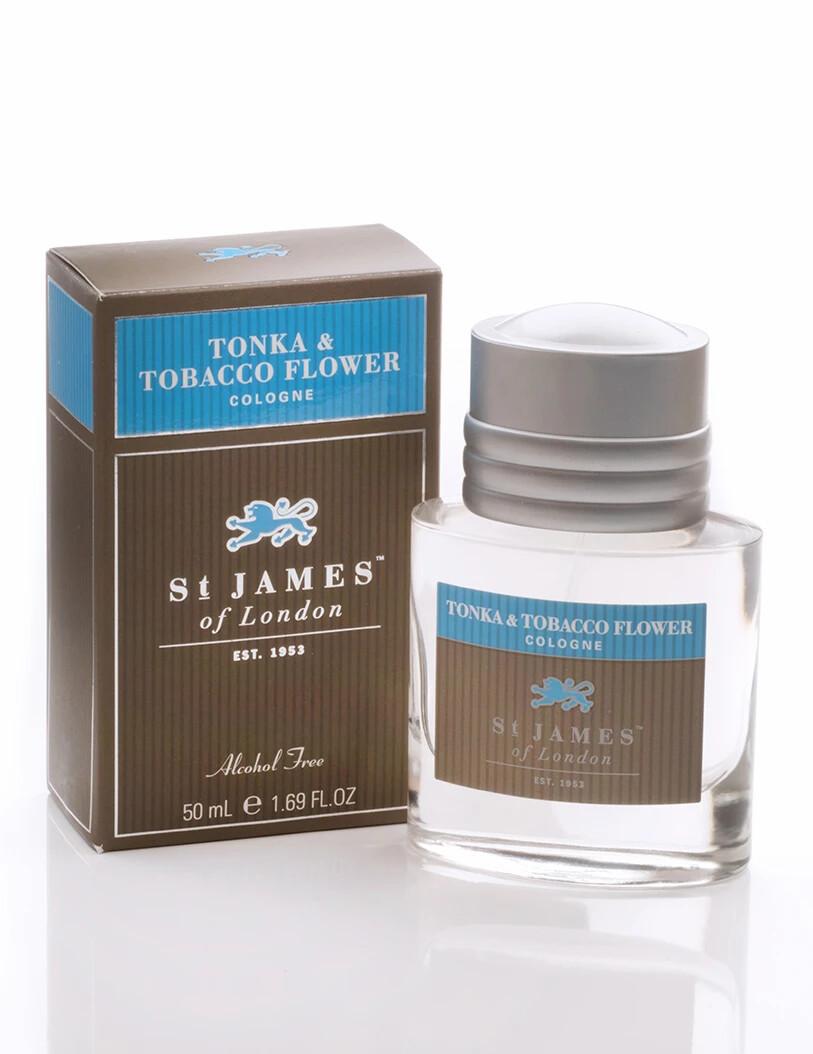 St. James of London Tonka & Tobacco Cologne
