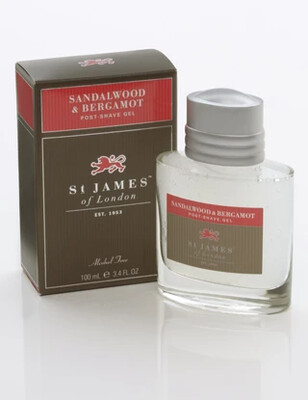 St. James of London Sandalwood & Bergamot Post-Shave Gel